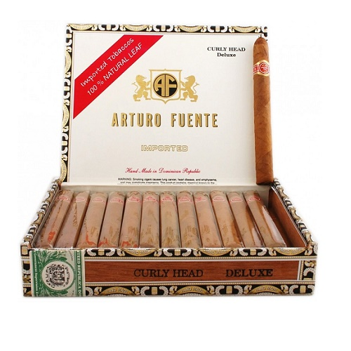 Сигары Arturo Fuente Curly Head Deluxe Natural - 25 шт.