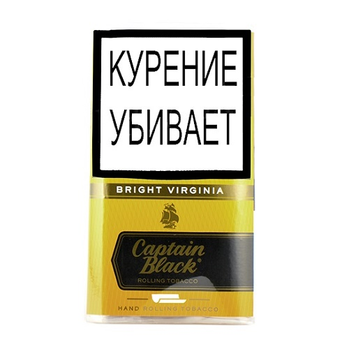 Табак для сигарет Captain Black Bright Virginia - 30 гр