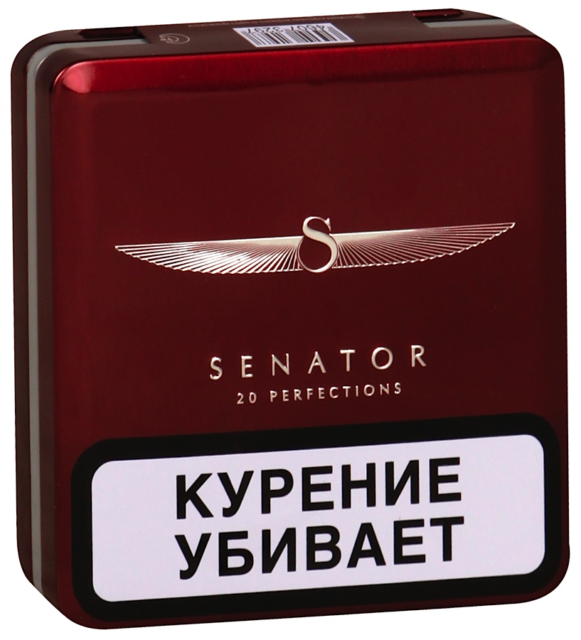 Сигареты Senator Original Pipe Tobacco ж/б - 1 блок