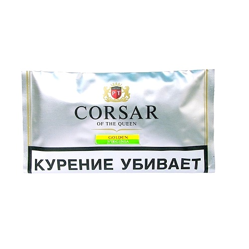 Табак для сигарет Corsar Of The Queen Golden Virginia - 35 гр.