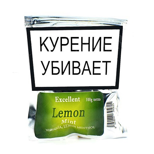 Табак для сигарет Excellent Lemon Mint - 100 гр