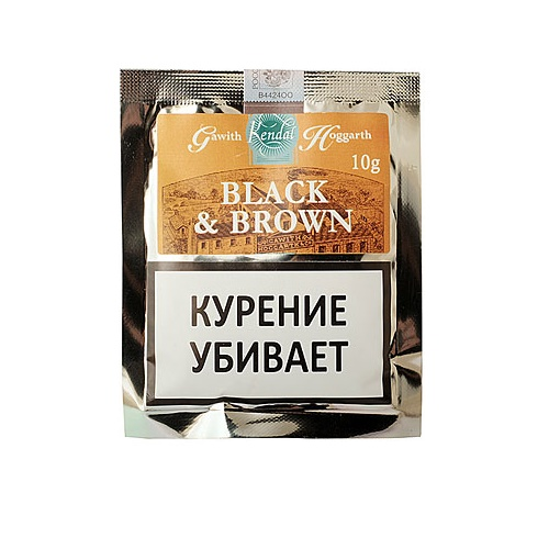 Табак для трубки Gawith & Hoggarth Black and Brown - 10 гр