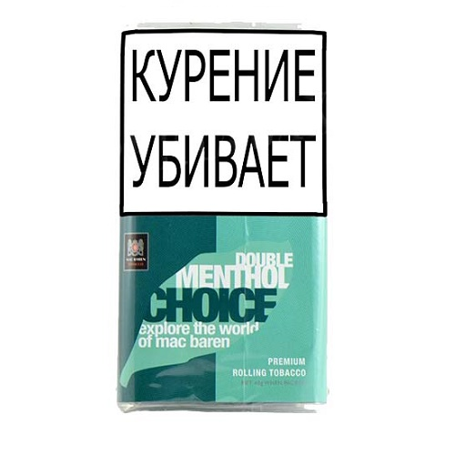 Табак для сигарет Mac Baren Double Menthol Choice