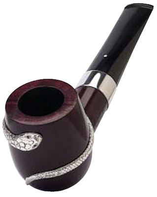 фото Курительная трубка Dunhill Bruyere pipe with silver snake