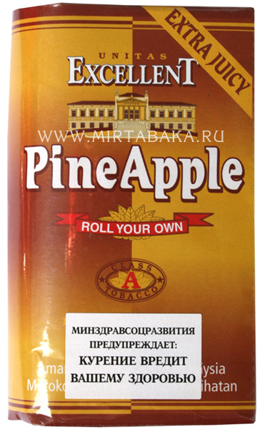 фото Табак для сигарет Exellent PineApple (Ананас)