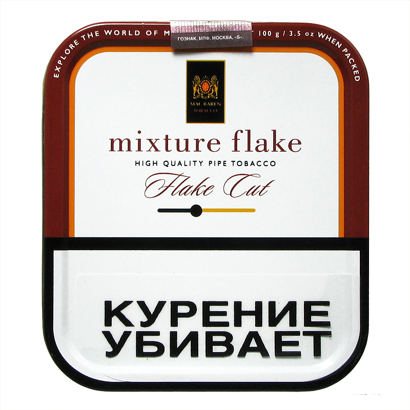 Табак для трубки Mac Baren Mixture Flake