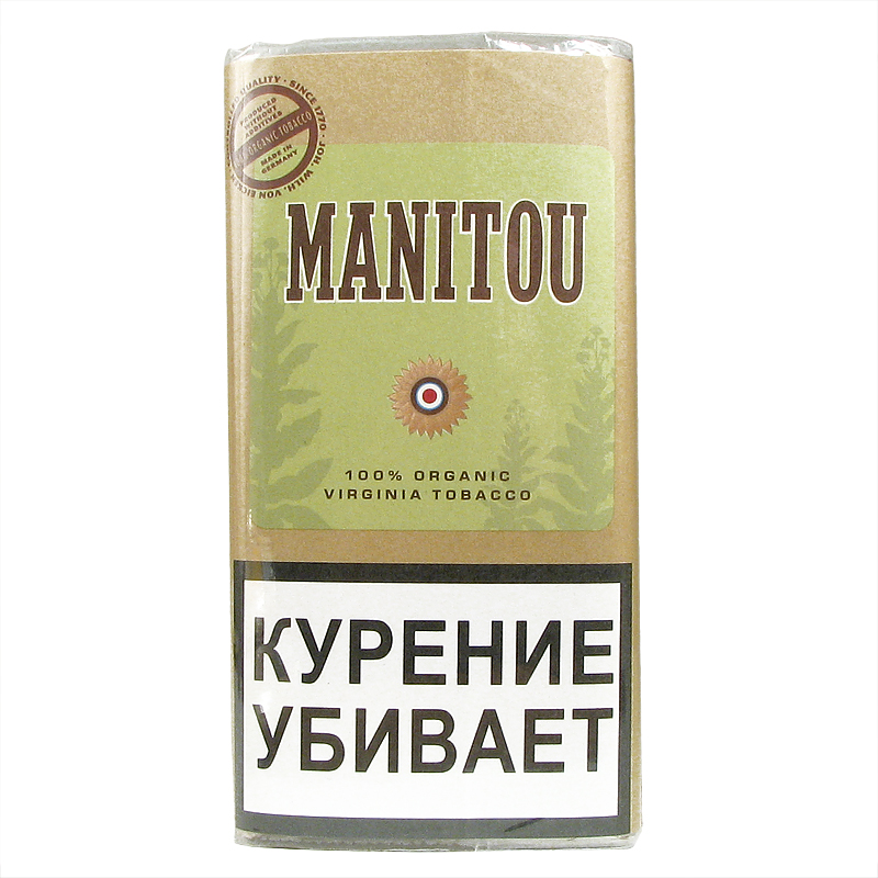 Табак для сигарет Manitou Virginia Green