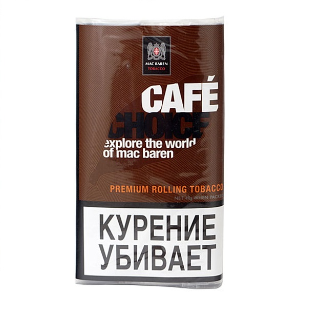 Табак для сигарет Mac Baren Cafe Choice