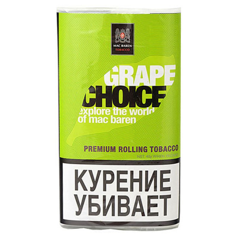 Табак для сигарет Mac Baren Grape Choice