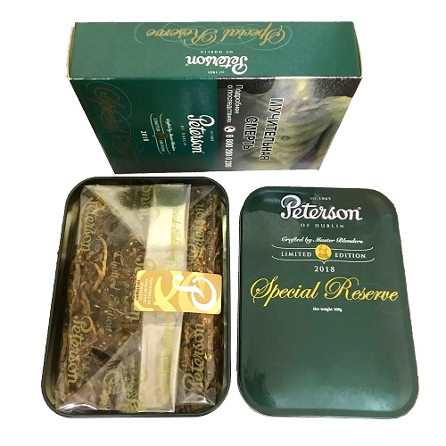 Табак для трубки Peterson Special Reserve Limited Edition 2018 - 100 гр