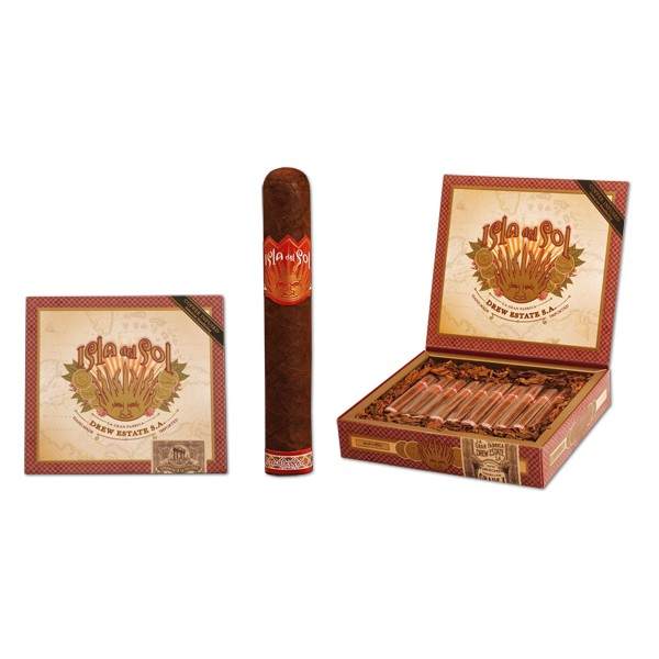 Сигары Drew Estate Isla Del Sol Robusto - 20 шт.